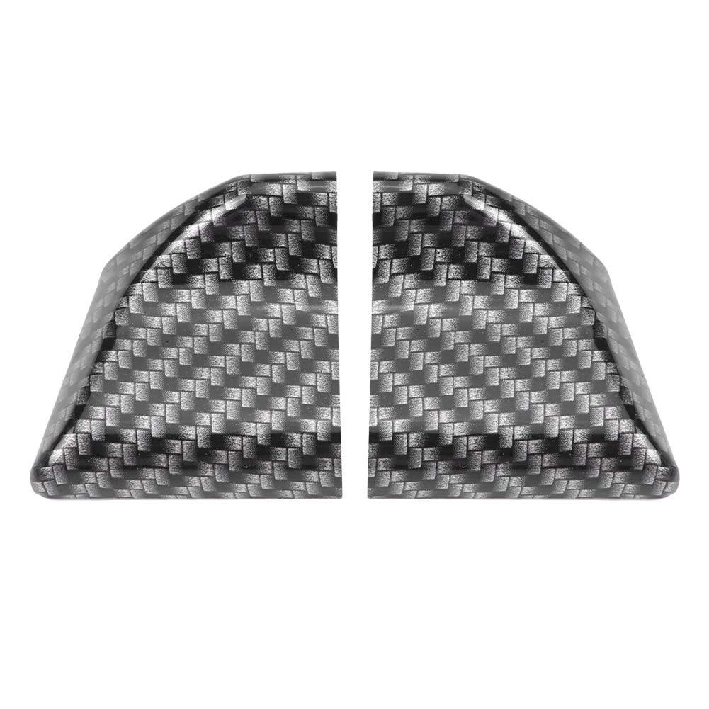 Akozon 1.6 m//5.2 Inch Universal Rear Spoiler Car Rear Spoiler Tape Carbon Tail Decoration Carbon Fibre Soft Rubber Car Rear Roof Trunk Spoiler Wing Lip Sticker Protect