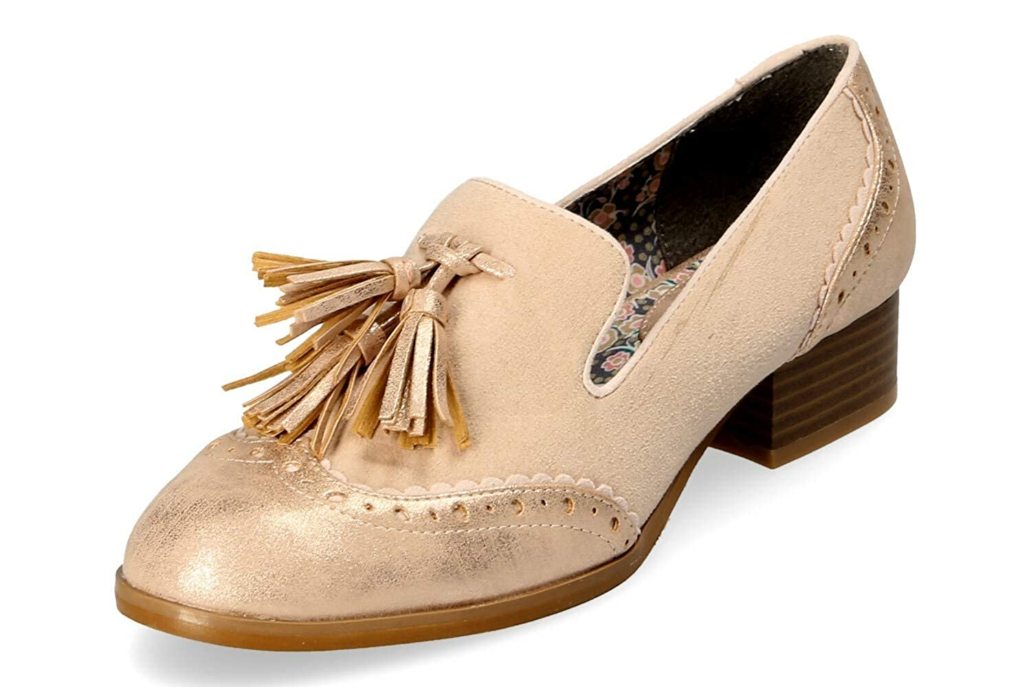 Ruby Shoo Damen Tara Pumps Beige Hell Gr. 37