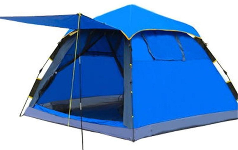Yeying123 3 Personen Sofort Regensichere Kabine Zelt Für Camping/Wandern/Angeln/Klettern, 215  215  145 cm,Blau