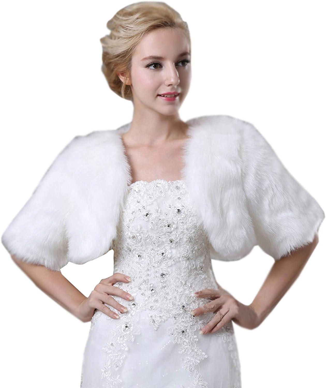 White Wedding Bridal Faux...