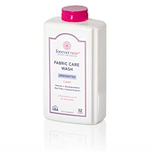 Forever New 32oz Liquid Unscented Fabric Care Wash - Natural Laundry Detergent