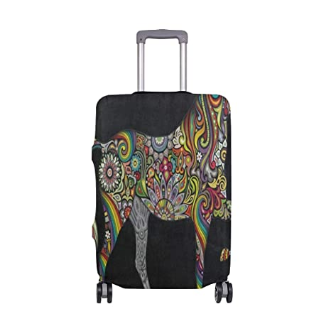 Funda para Maleta con diseño de Mandala y Caballo, Color ...