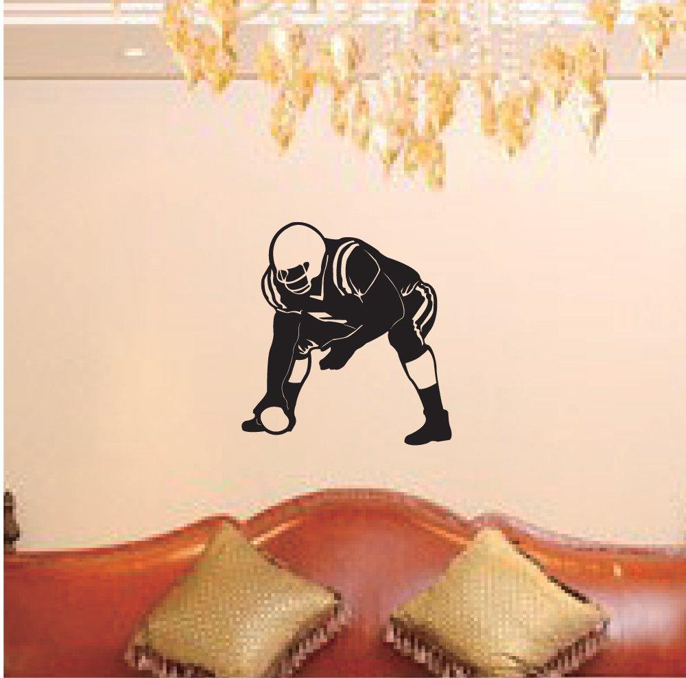 【国内在庫】 Large -- Hit Easy instant decoration wallステッカー壁画スポーツAmerican instant B00AYCF5RW Football rugby-hitまたはBe Hit B00AYCF5RW, ヘッジホッグ おとなカワイイ靴店:6b3f793e --- arianechie.dominiotemporario.com