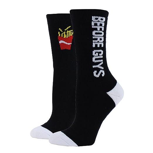 Sockart Women S Fries Before Guys Socks At Amazon Women S Clothing
