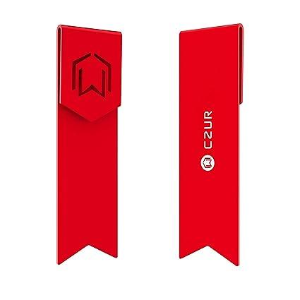 CZUR Metall Lesezeichen - Einzigartige Geschenk Lesezeichen für Frauen und Männer hergestellt aus Luftfahrtaluminium für lang