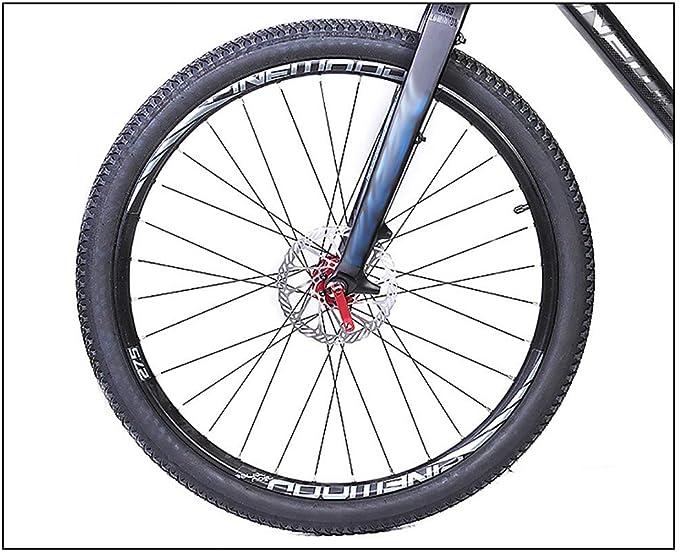 HHHKKK Horquilla Suspensión para Bicicleta Montaña, Horquilla Dura ...