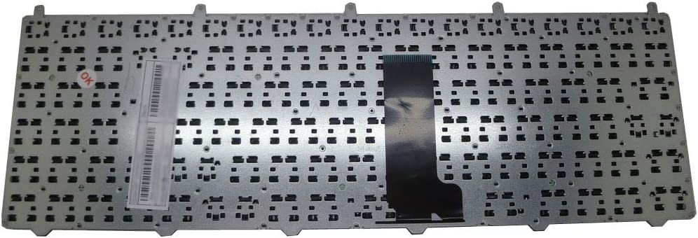 Laptop Keyboard for CLEVO W650EH MP-12N76D0-430 6-80-W6500-070-1 Germany GR with Grey Frame