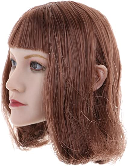environ 30.48 cm Magideal 1//6 Scale Female Head Sculpt for 12 in Phicen figurines corps