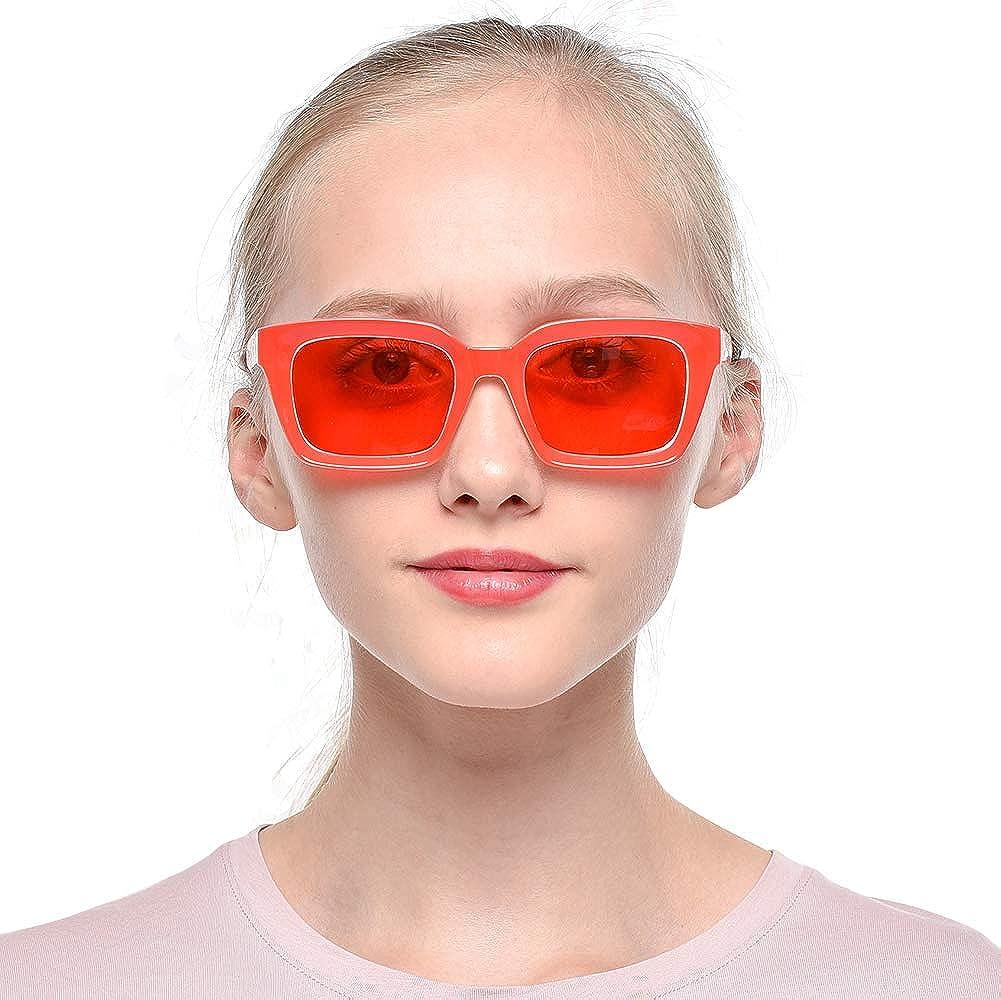 SOOLALA Retro Desinger 49mm Large Lens Square Reading Glass Big Eyeglass Frame