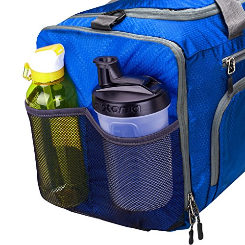Venture Pal Packable Sports Gym Bag with Wet Pocket & Shoes Compartment Travel Duffel Bag for Men and Women-Royal Blue by Venture Pal (Image #4)