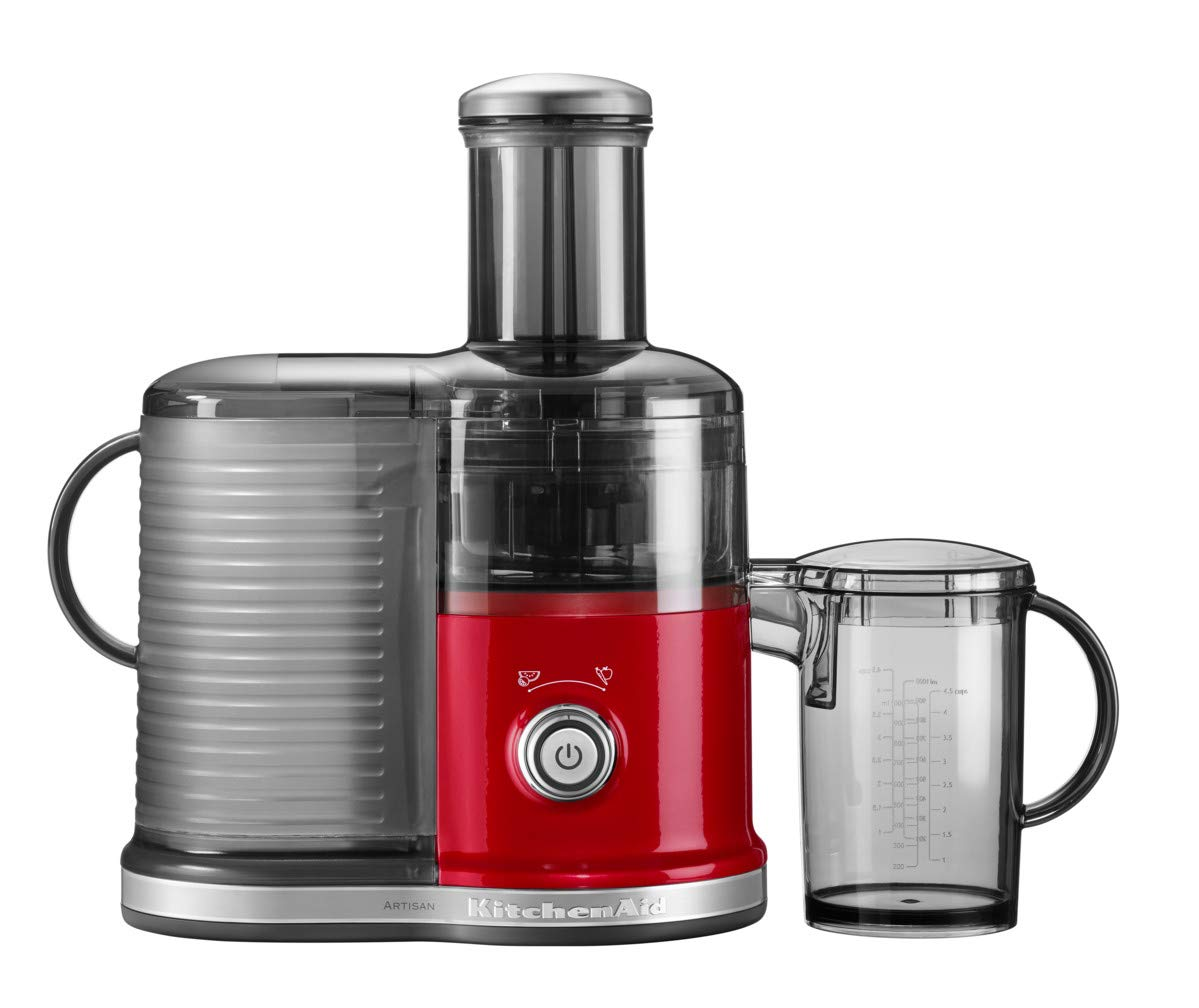 KitchenAid 5KVJ0332 Licuadora centrífuga 500W Rojo - Exprimidor ...