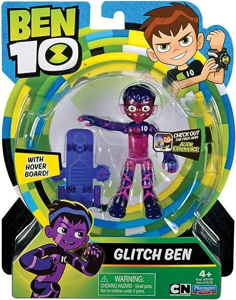 Ben 10 BEN35610 Glitch Ben Action Figure