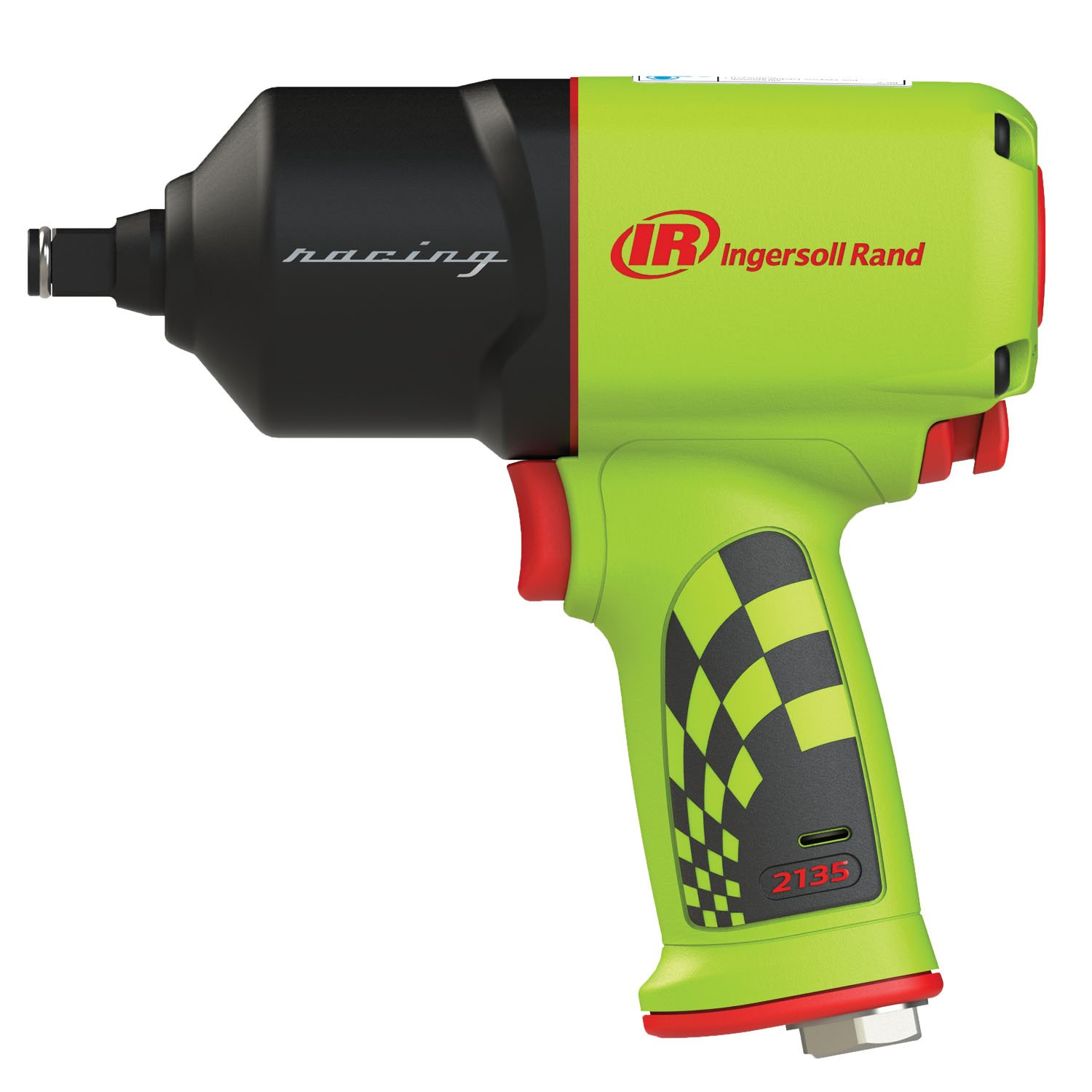 Ingersoll Rand 2135QXPR-G Limited Edition 1/2'' Racing Edition, Quiet Impact Wrench