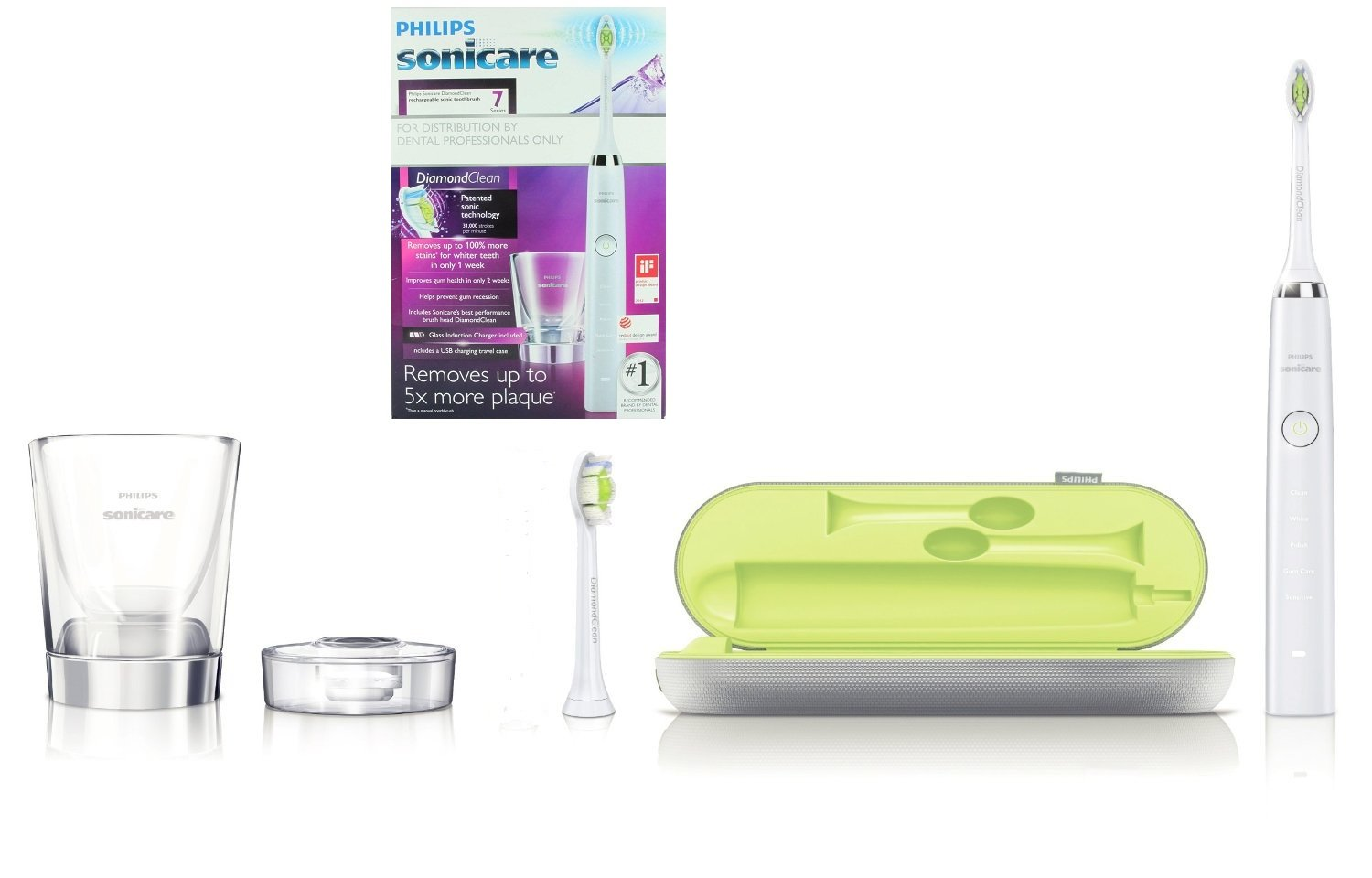Philips Sonicare DiamondClean Toothbrush 7 Series Rechargeable Electric Toothrush Dental Professional Model