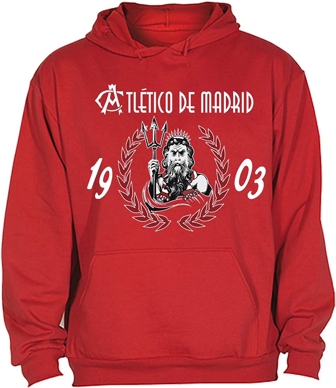 CamisetasATM1903 Sudadera Hombre ATL/ÉTICO DE Madrid ATL/ÉTI NEPTUNO 1903