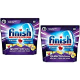 Finish Quantum Dishwash Tablets Lemon 30's Pack Of 2