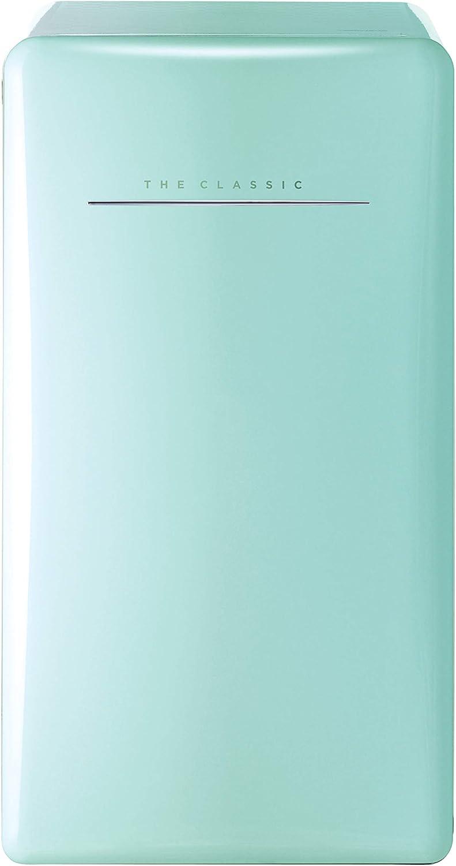 WINIA WFR044RCNM Retro Compact Refrigerator, 4.4 Cu. Ft, Mint