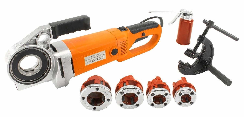 "Steel Dragon Tools 550 1/2"" - 1 1/4"" Portable Handheld Pipe Threader Threading Machine"