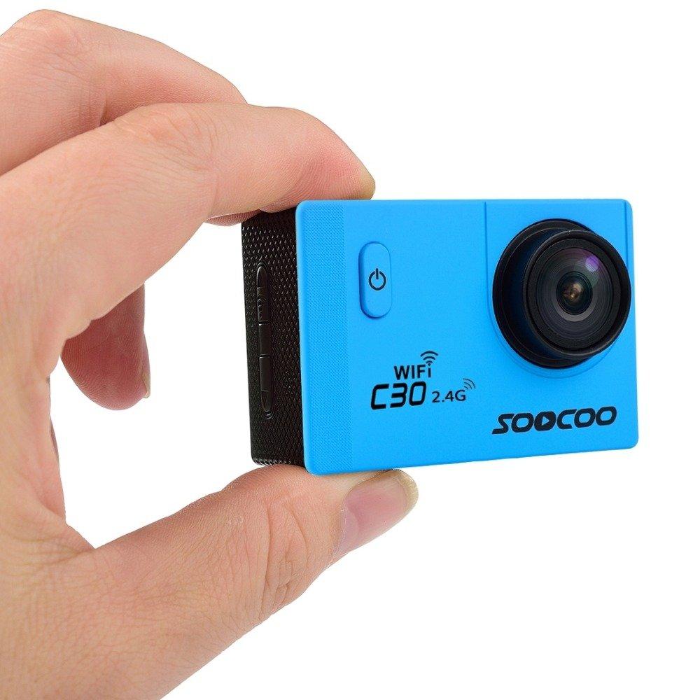 Soocoo eptek @ 16GB TF Karte + 4 K Wifi Sport Action Kamera, C30R ...