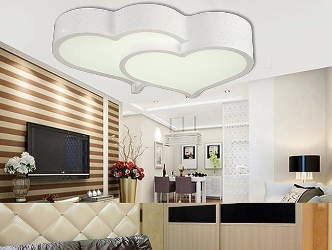 Saejj lampade da soffitto led camera da letto studio