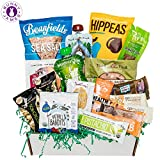 Certified Vegan Snacks Premium Vegan Care Package Includes: [1] Hippeas Organic Chickpea Puffs, Vegan Chips 1 oz. [1] Munk Pack Oatmeal Fruit Squeeze 4.2 oz. [1] Mamma Chia Squeeze Vitality Snack, 3.5 oz.  [1] Lenny & Larry's the complete cookie...