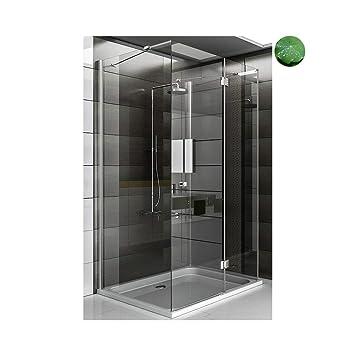 Dusche Duschkabine U Form Duschabtrennung Wannenmass 100x120x195cm