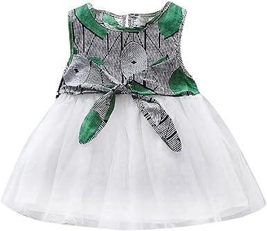 Huhua - Falda - Moda - para niña Verde verde 24 Meses: Amazon.es ...