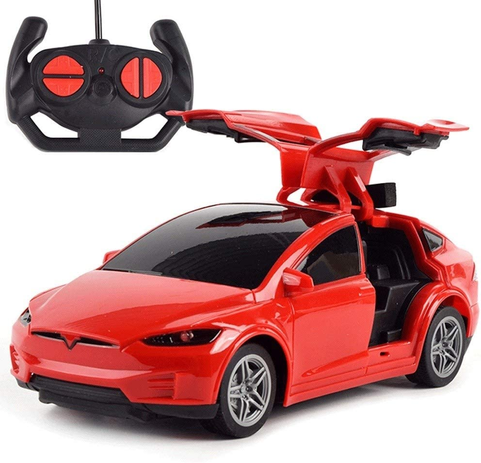 Color : Black SSBH Tesla Rechargeable 2.4G RC Vehicle Electronic Sports Race Remote Control High Speed Sports Car Electric Drift Racing for Kids Adults Toddlers Boys Girls Birthday