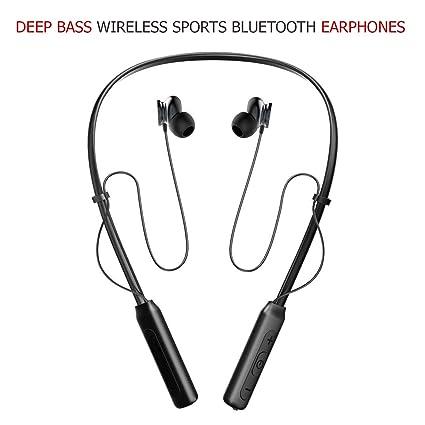 89cf72fecb80 Chevron Deep Bass Wireless Sports Bluetooth Earphones with Stereo Sound and Handsfree  Mic(Black)