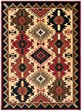 Rug Empire Rustic Lodge Southwest Southwestern Area Rug, 5'3″x7'3″