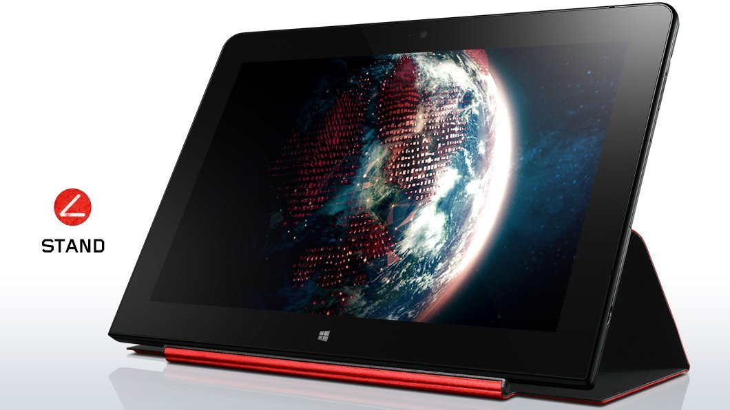 2017 Newest Lenovo Tablet TP 10.1 Inch IPS Full HD High Performance Laptop PC, Intel Atom x7 Z8750, 4GB Memory, 64GB SSD, Bluetooth 4.0, USB 3.0, HDMI, Windows 10 Professional