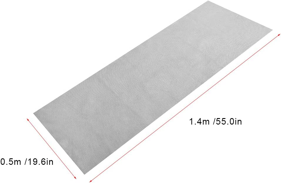 Borlai Dust Protective Cover 1.4m x 0.5m Fabric Dustproof Protective Cloth Cover Stereo Audio Speaker Mesh Grill Cloth