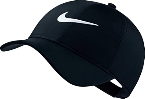 competitive price 57481 c444a NIKE Women s AeroBill Legacy 91 Perforated Cap, Black Anthracite White, One  Size
