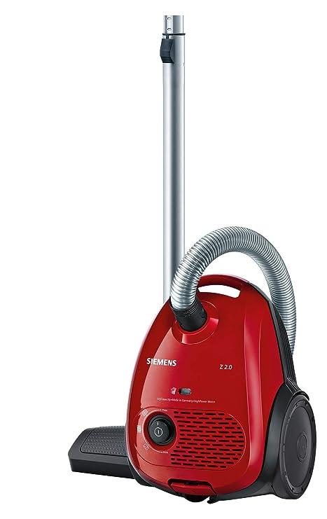 Siemens VSZ2V3171 - Aspiradora con bolsa, color rojo: Amazon ...