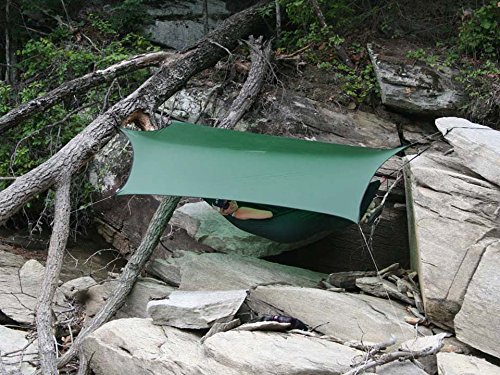 ENO Eagles Nest Outfitters - ProFly XL Sil Rain Tarp, Lichen by Eagles Nest Outfitters (Image #3)