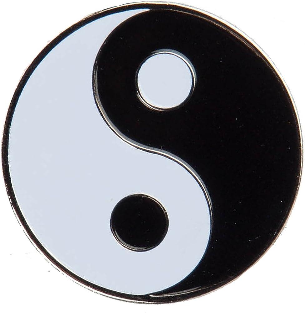 Yin Yang Lapel Pin