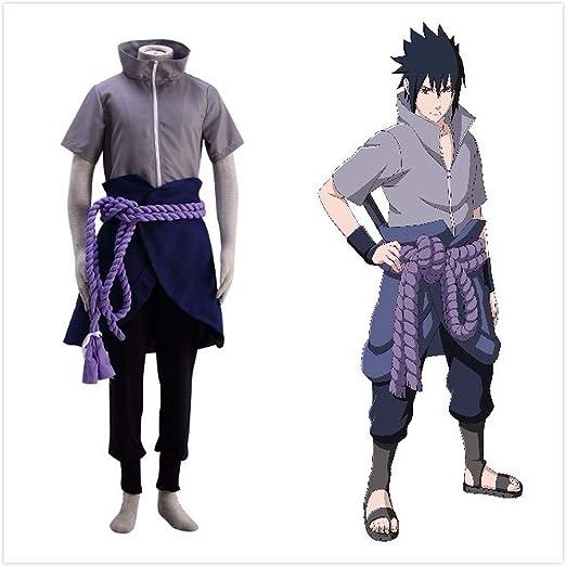 Amazon.com: Disfraz original de anime Naruto Sasuke Uchiha ...