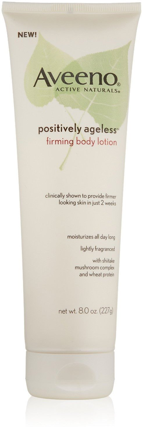 AVEENO Active Naturals Positively Ageless Firming Body Lotion 8 oz (Pack of 12)