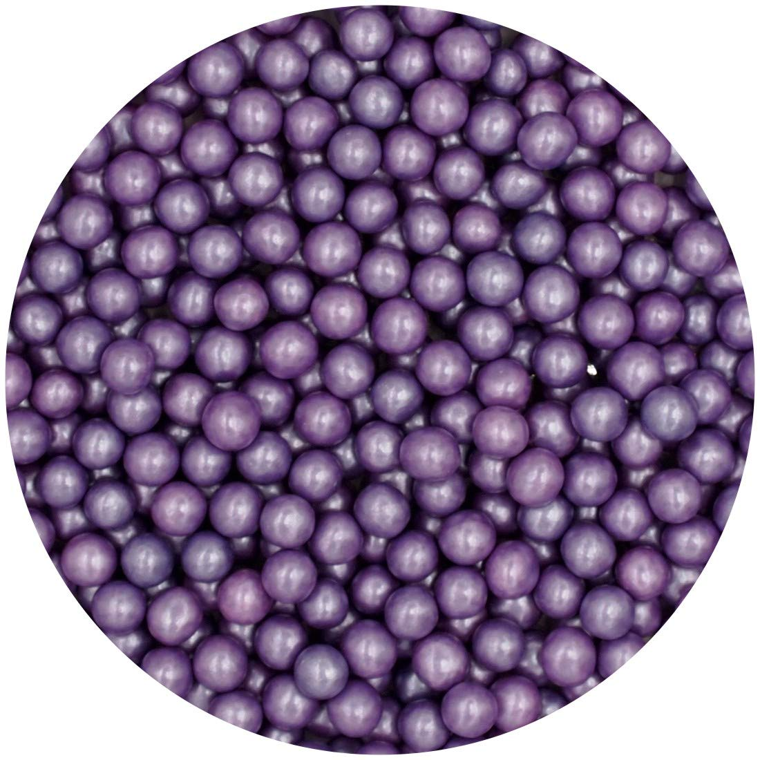 Natural6mmPurpleNuts Dairy Soy Gluten GMO Freeshimmer Pearls Bulk Pack