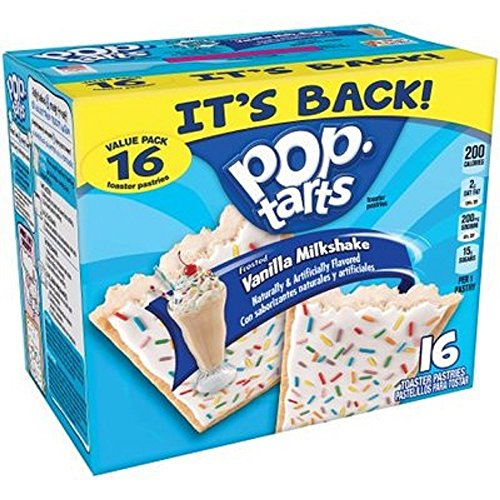 Pop Tarts Vanilla Milkshake ( Pack of 1 ) -