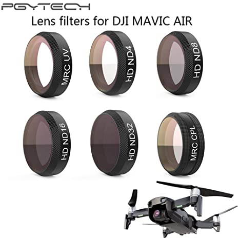 Mavic Air Lens ND4 ND8 ND16 ND32 CPL UV HD Camera Lens Filter for DJI Mavic Air Camera Drone Polarizer Natrual Density Filter CPL