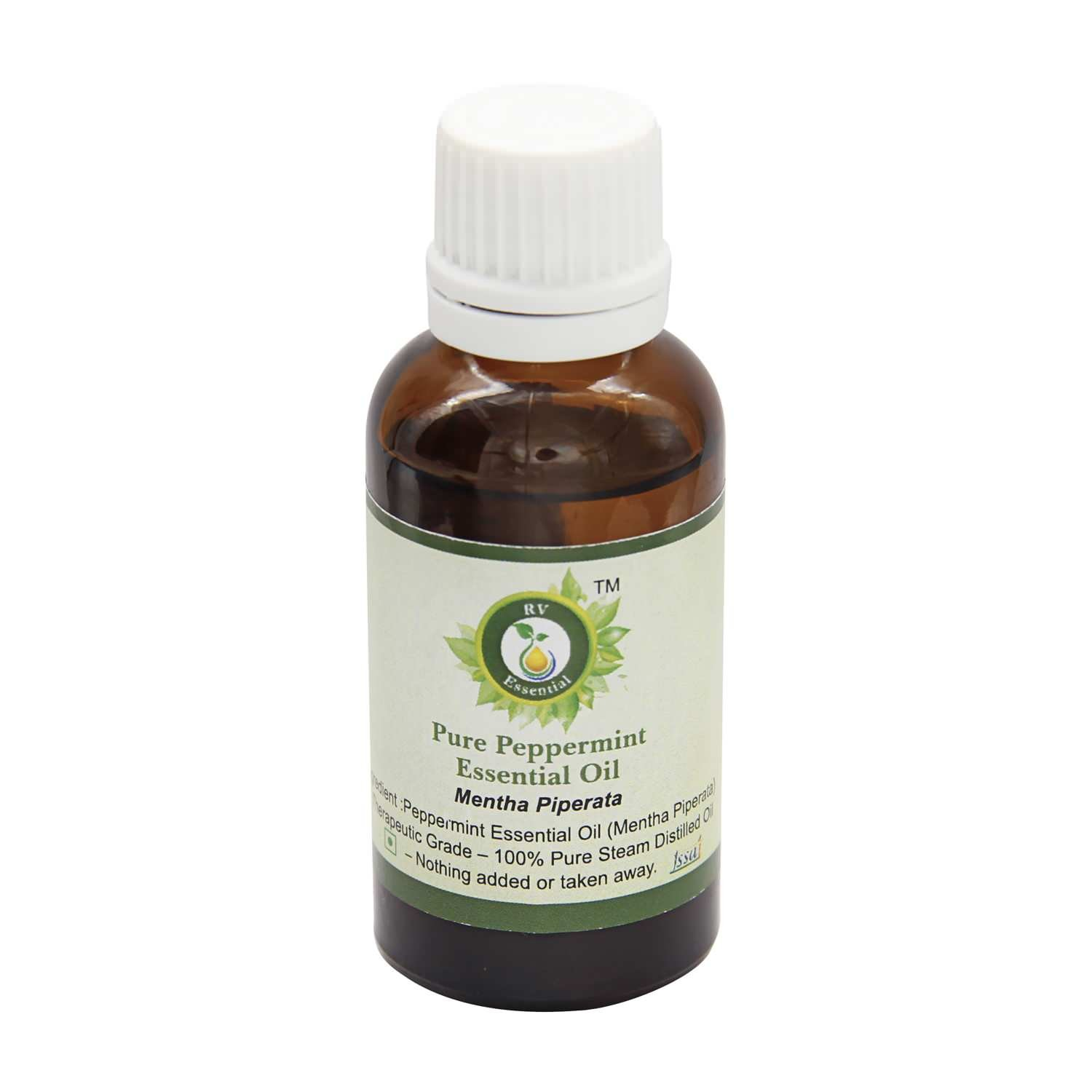 Peppermint Essential Oil | Mentha Piperata | Peppermint Oil | For Hair | Pure Peppermint Oil | Undiluted | 100% Pure Natural | Steam Distilled | Therapeutic Grade | 300ml | 10oz By R V Essential
