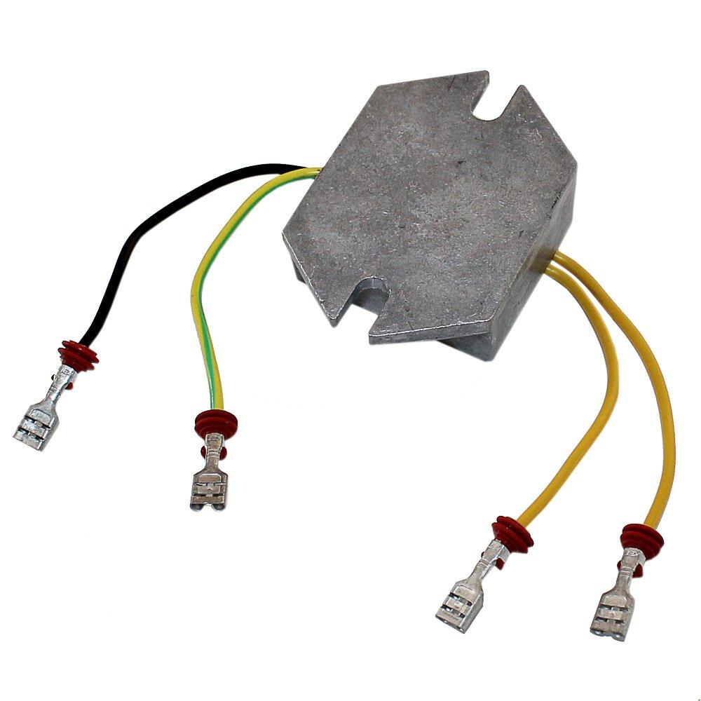 Caltric Voltage Regulator Fits Ski Doo Mx Z Mxz 500 Rectifier Circuit 600 700 2001 2002 Automotive