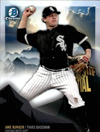 2018 Bowman Prospects #BP37 Jake Burger Chicago White Sox Baseball Card