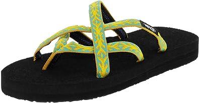 a88820a5d Teva Womens Olowahu Webbing Flip Flop Sandal Shoes  Amazon.co.uk ...
