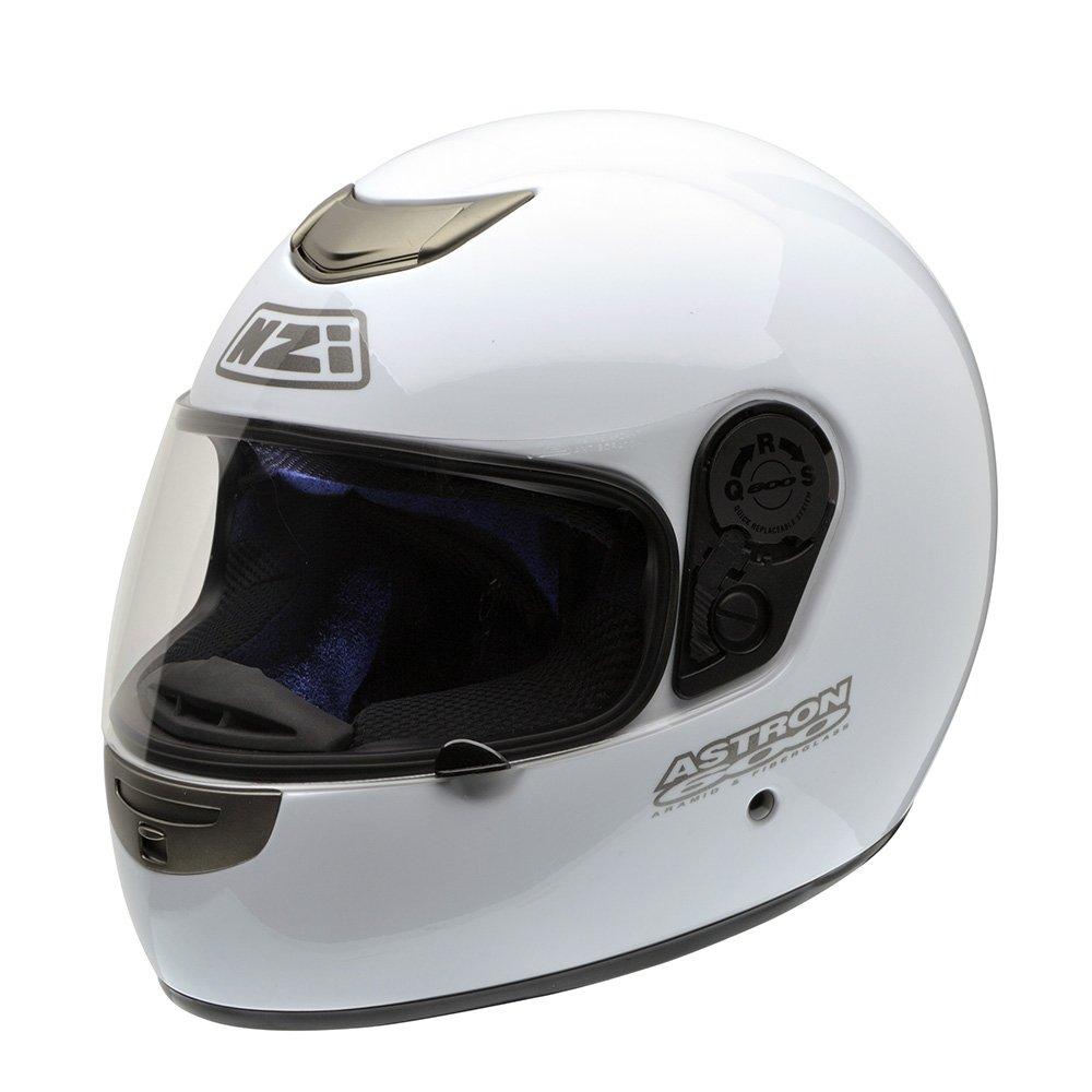 L Negro NZI Astron 600 Casco de Moto 58-59