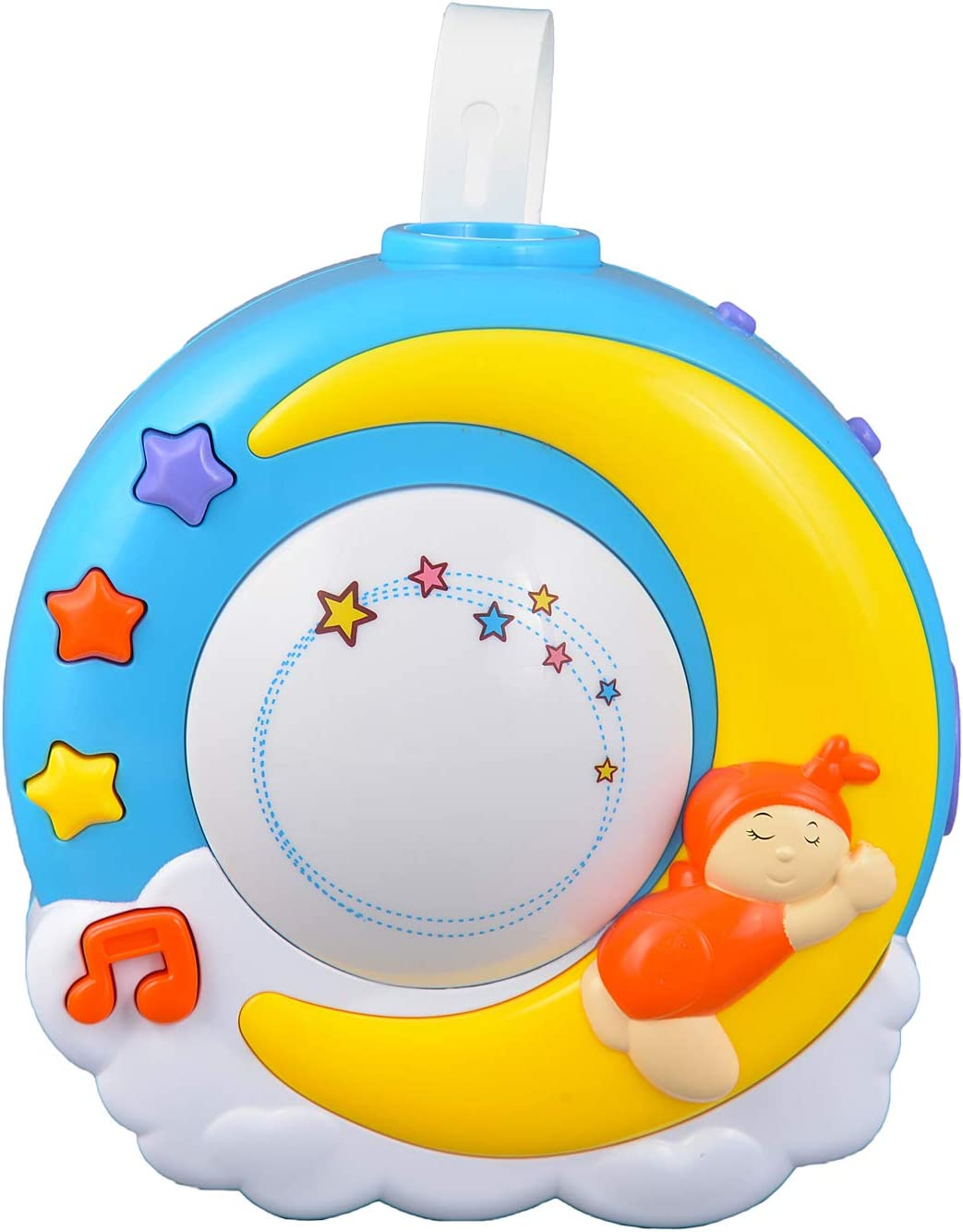 Baby Night Light Projector With Music Nursery Lamp For Crib With Self Timer Soothing Sleep Aid With Nature Sounds And Lullabies Price In Uae Amazon Uae Kanbkam