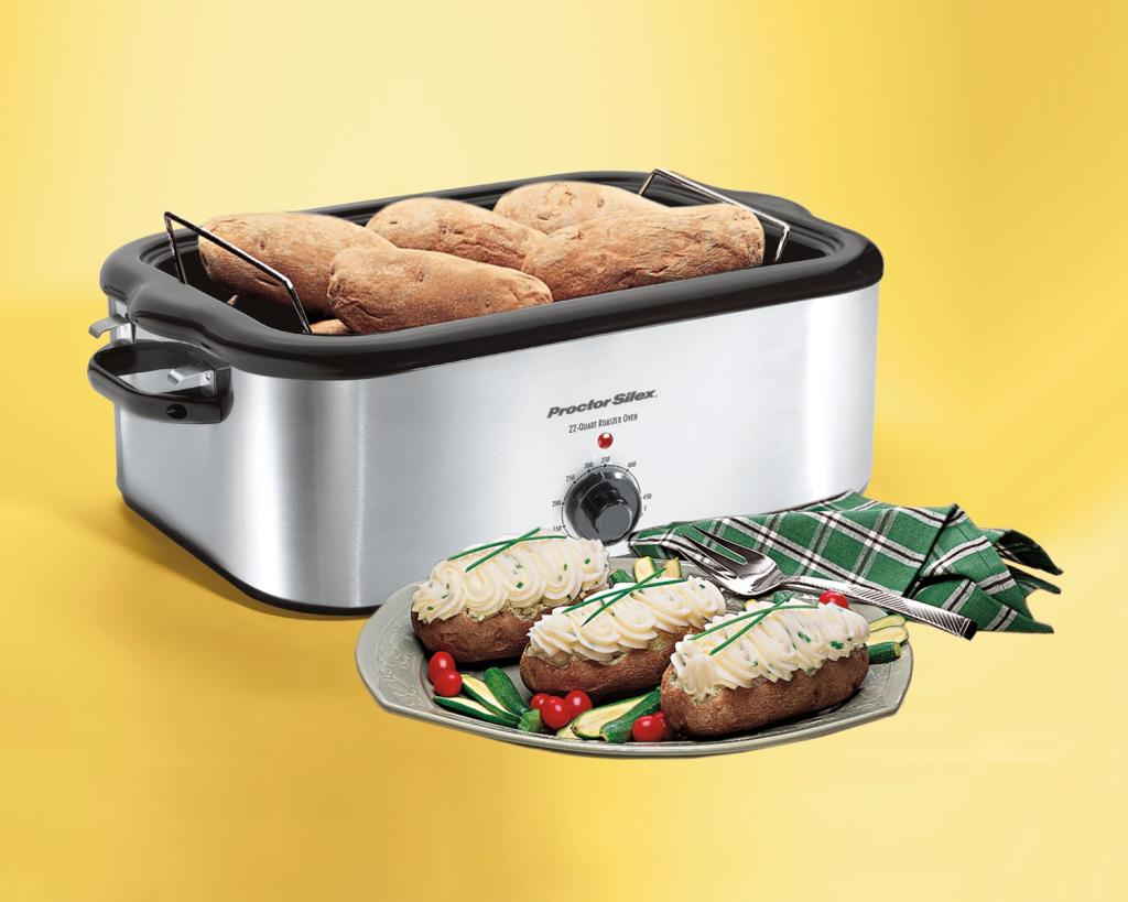 Amazon Com Proctor Silex 32230a Stainless Steel Roaster