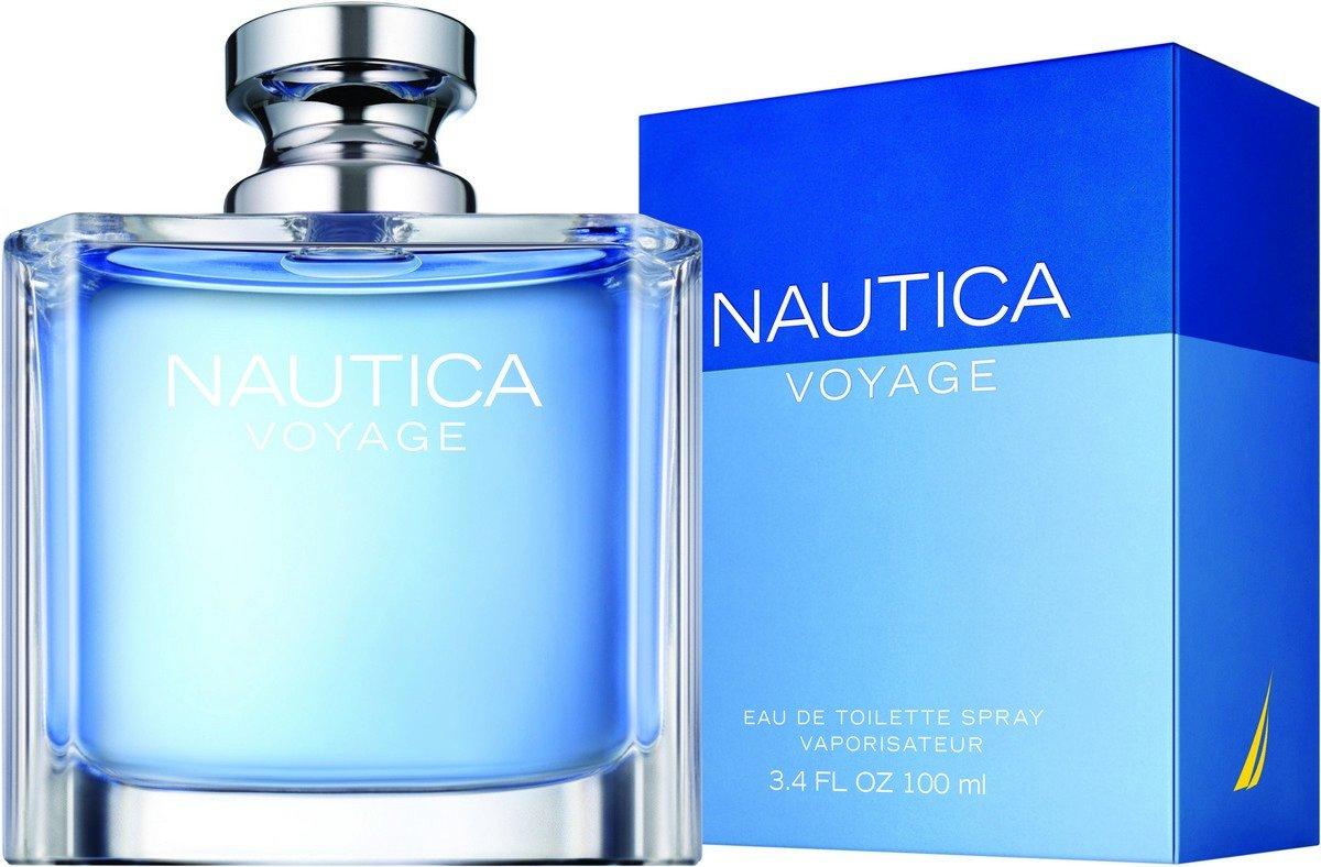 Nautica Voyage Eau de Toilette Spray for Men, 3.4 oz