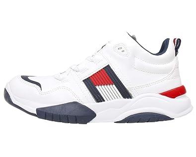 stile classico negozio codici promozionali Tommy Hilfiger T3B4-30486-0815100- Sneakers Bambino: Amazon.it ...